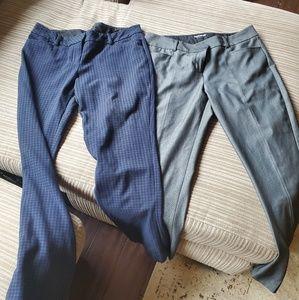 Express suit pants dress trouser columnist 8 short